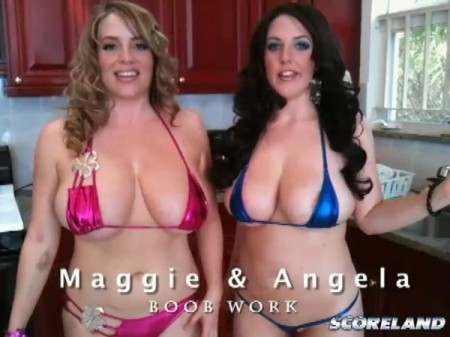 Maggie Green - Behind The Scenes Big Tits video