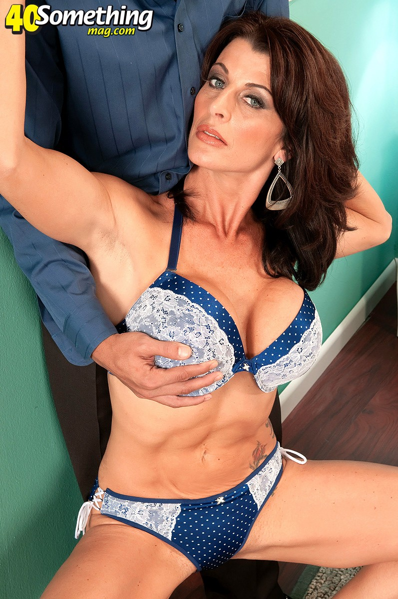 Super hot milf blake james