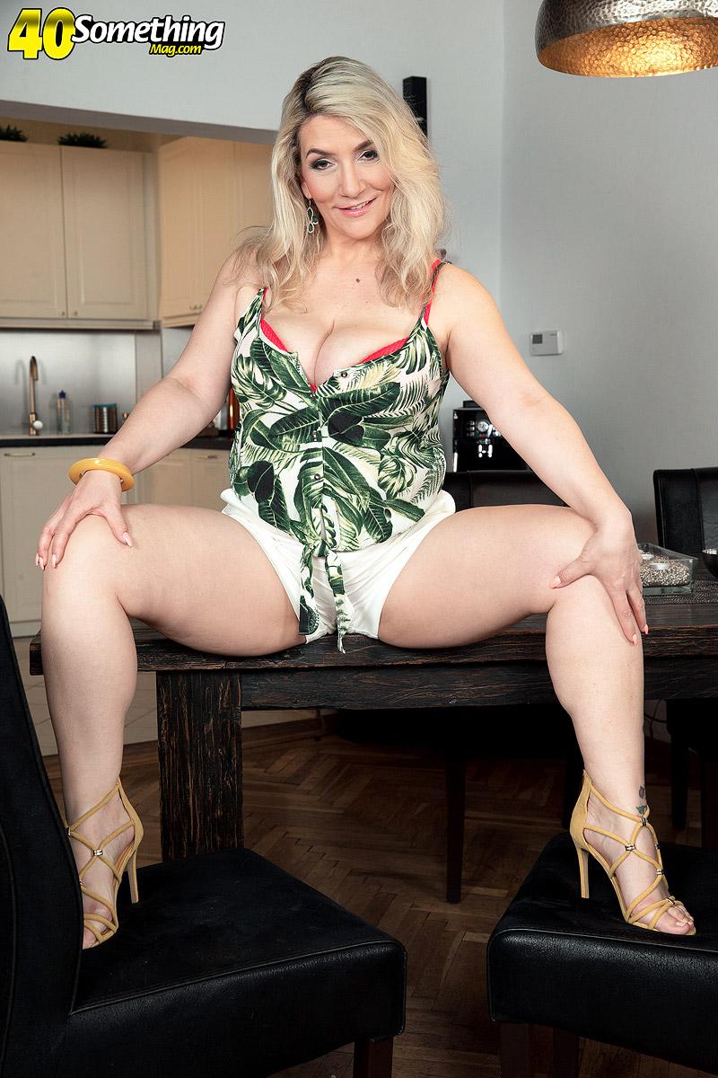 Big tits sex mature