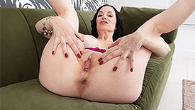 Angie Noir - Solo MILF video screenshot 4