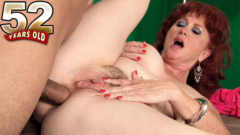 Mature fat blowjob
