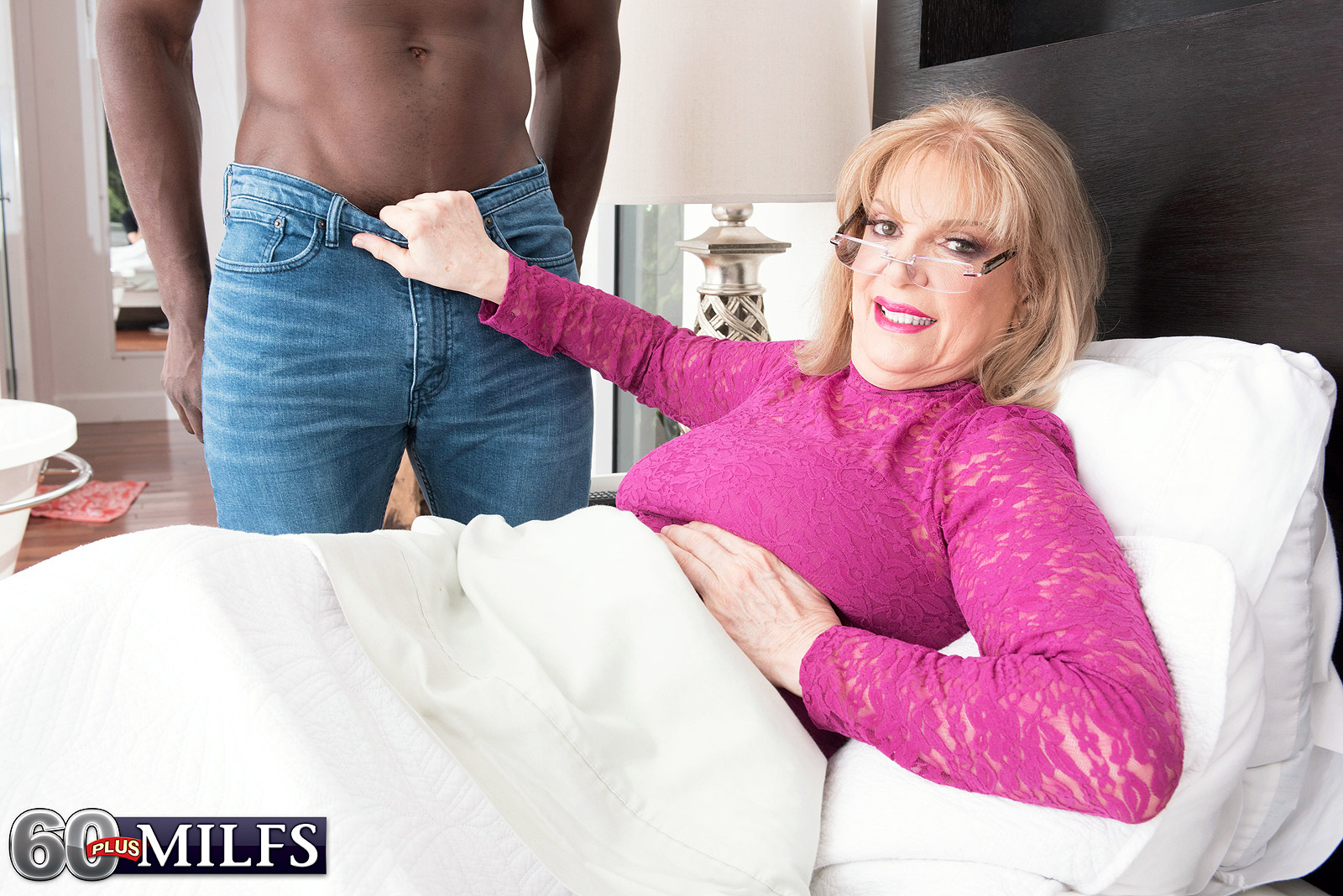 60 Plus Gilfs a 70-year-old gilf and a big, young, black cock - crystal