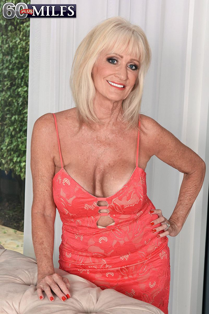 60 plus blonde granny