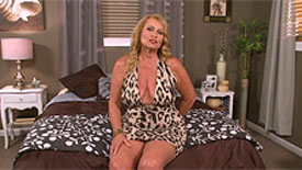 thousands of cocks but her first time on camera