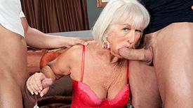 double pussy granny photos
