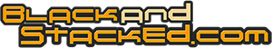 Black And Stacked logo