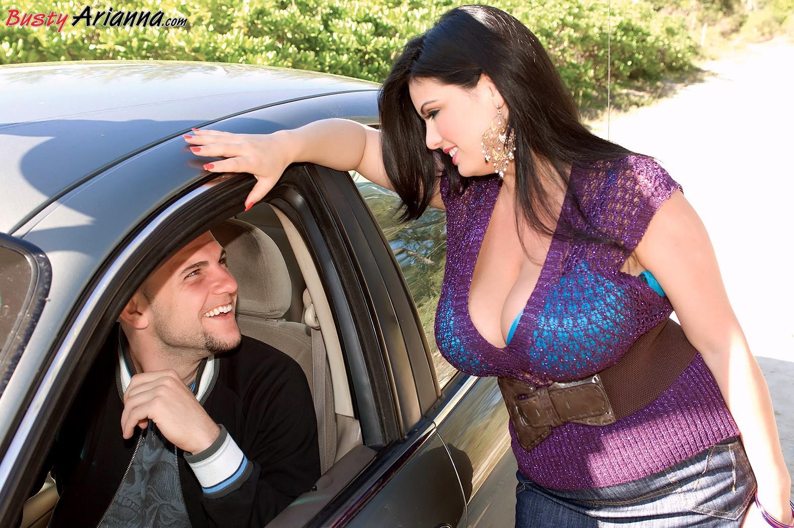 Arianna sinn naked car video