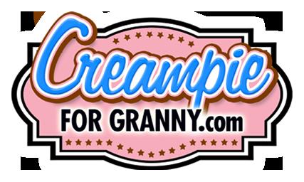 Creampie for Granny