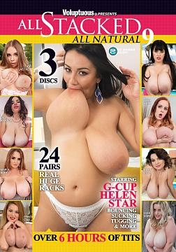 ALL STACKED, ALL NATURAL 9 DVD (3 DISCS)