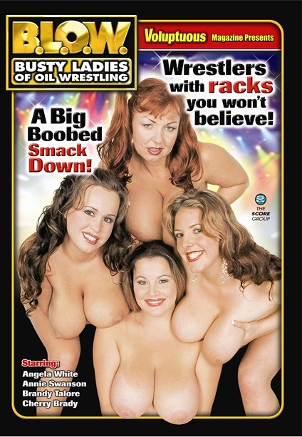 B.L.O.W. BUSTY LADIES OF OIL WRESTLING DVD cover image