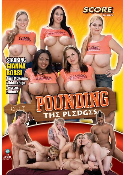 POUNDING THE PLEDGES DVD cover image