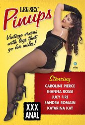 LEG SEX PINUPS DVD cover image
