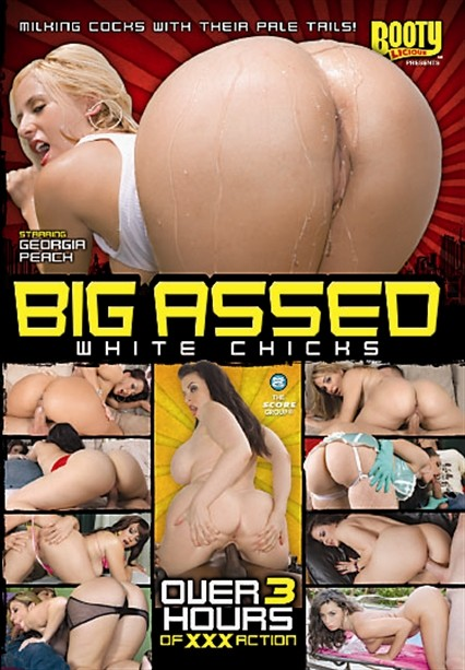 BIG ASSED WHITE CHICKS DVD cover image