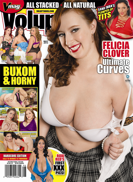 VOLUPTUOUS MAY 2013 Magazine cover image