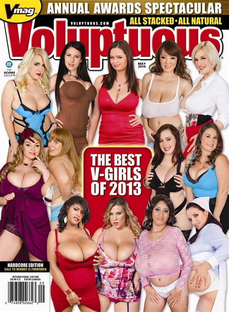 VOLUPTUOUS MAY 2014 Magazine cover image