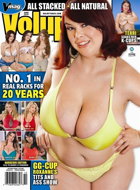 VOLUPTUOUS JUNE 2014 Magazine cover image