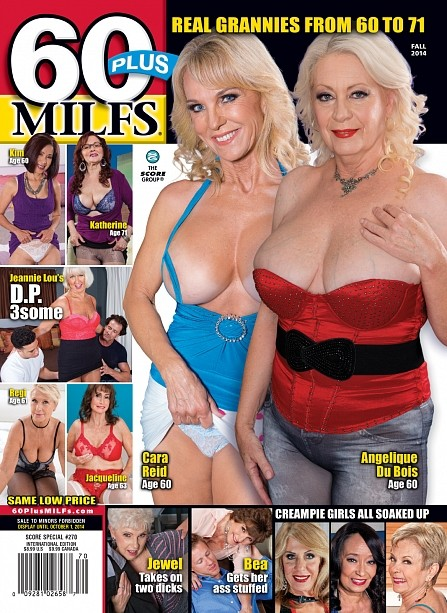 60PLUS MILFS SP270 Magazine cover image