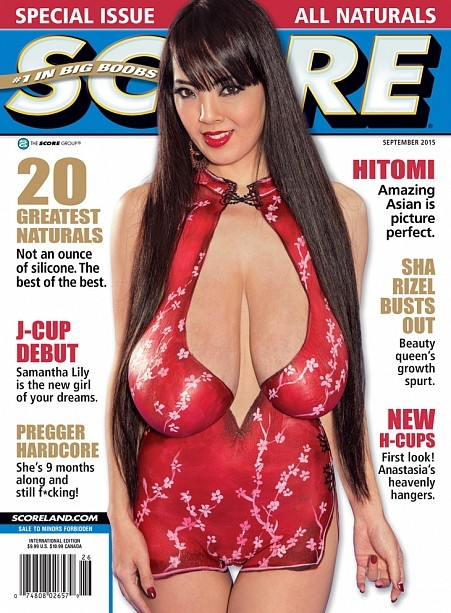 SCORE SEPTEMBER 2015 Magazine cover image