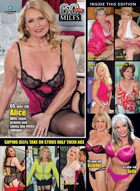 Alice 60 plus milf