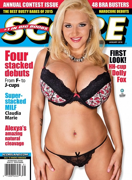 SCORE JANUARY 2016 Magazine cover image