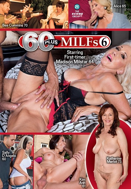 60PLUS MILFS 6 DVD cover image