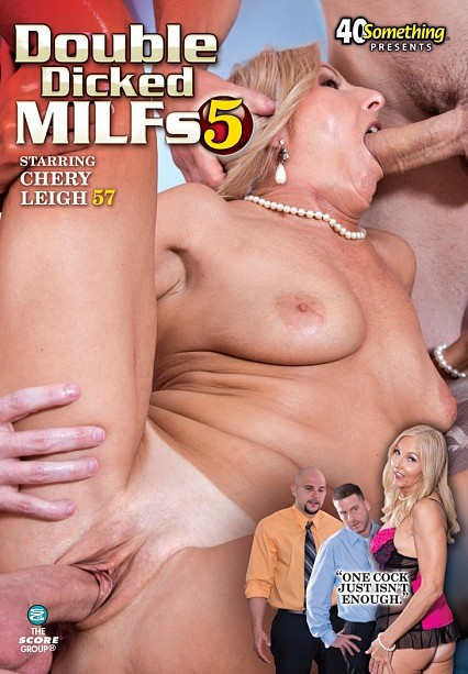 DOUBLE DICKED MILFS 5 DVD cover image
