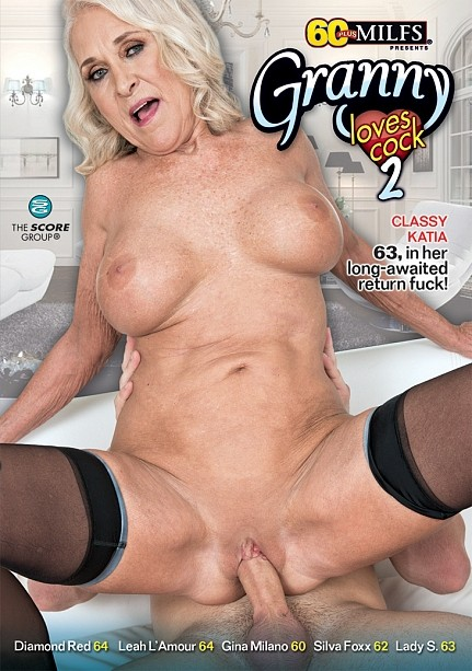GRANNY LOVES COCK 2 DVD cover image