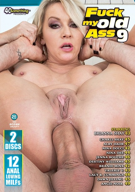 FUCK MY OLD ASS 9 (2 DISC) DVD cover image