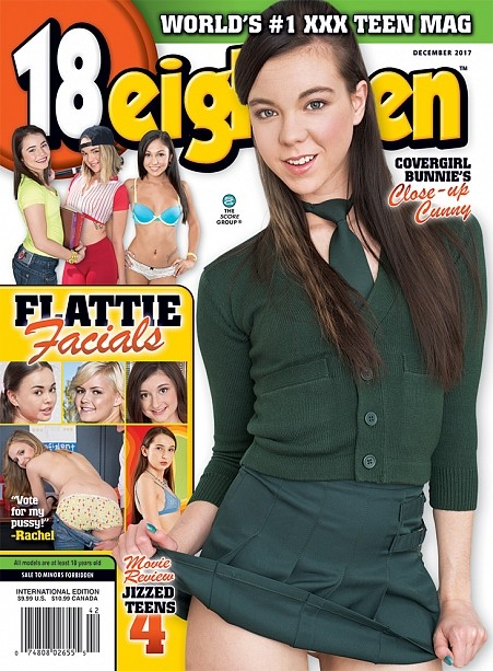 18EIGHTEEN DECEMBER 2017 Magazine cover image