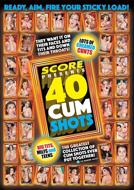 40 CUM SHOTS DVD cover image