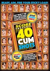 40 CUM SHOTS DVD preview image #1