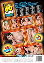 40 CUM SHOTS DVD preview image #2