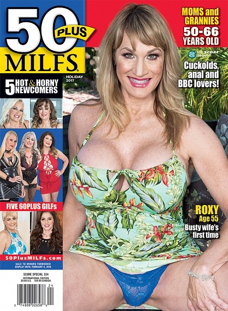 50PLUS MILFS HOLIDAY 2017 Magazine cover image