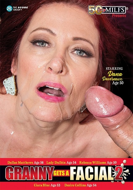 GRANNY GETS A FACIAL 2 DVD cover image