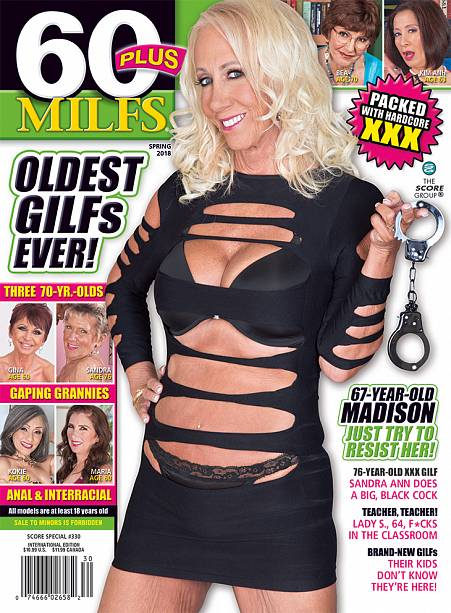 60PLUS MILFS SP330 Magazine cover image