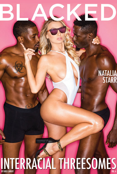 BLACKED INTERRACIAL THREESOME 6 DVD cover image