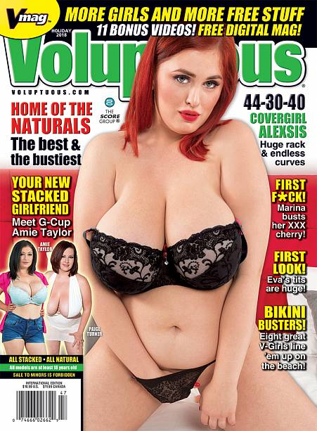 VOLUPTUOUS HOLIDAY 2018 Magazine cover image