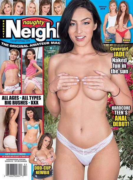 NAUGHTY NEIGHBORS JANUARY 2019 Magazine cover image