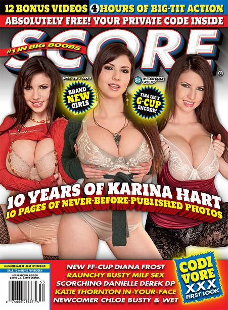 SCORE VOL 28 NO 1 Magazine cover image