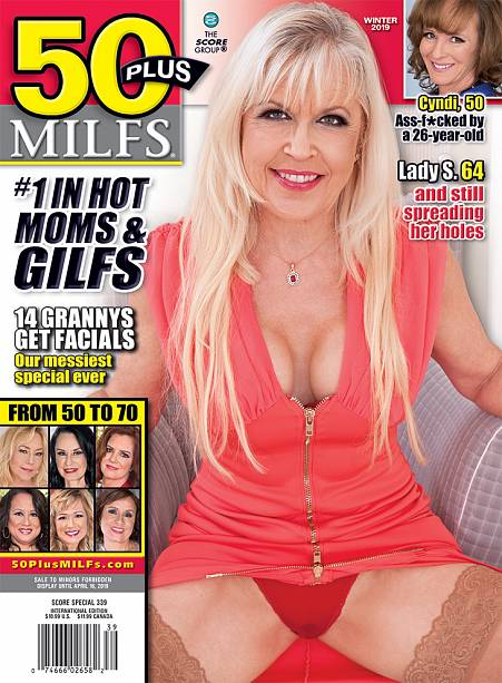 50PLUS MILFS WINTER 2019 Magazine cover image