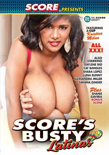 SCORE'S BUSTY LATINAS DVD cover image