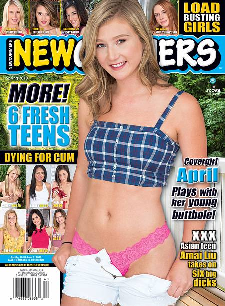 NEWCUMMERS SPRING 2019 Magazine cover image