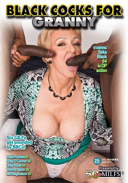 BLACK COCKS FOR GRANNY DVD cover image