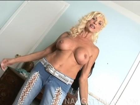 Busty mature blonde 03