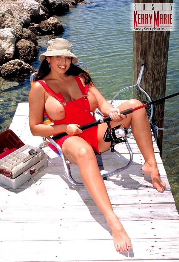 Kerry Goes Fishing