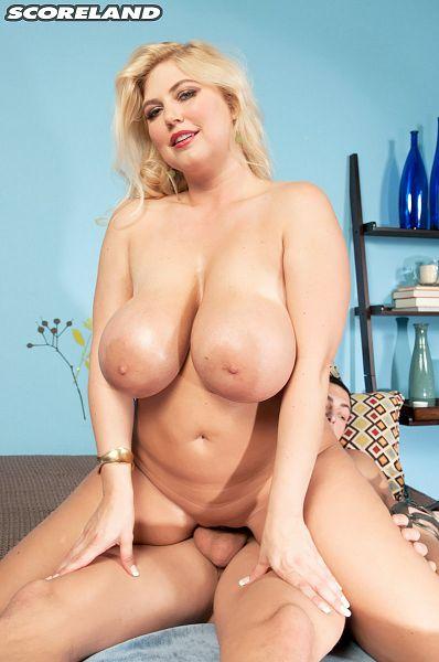 Big tits handjob cumshot