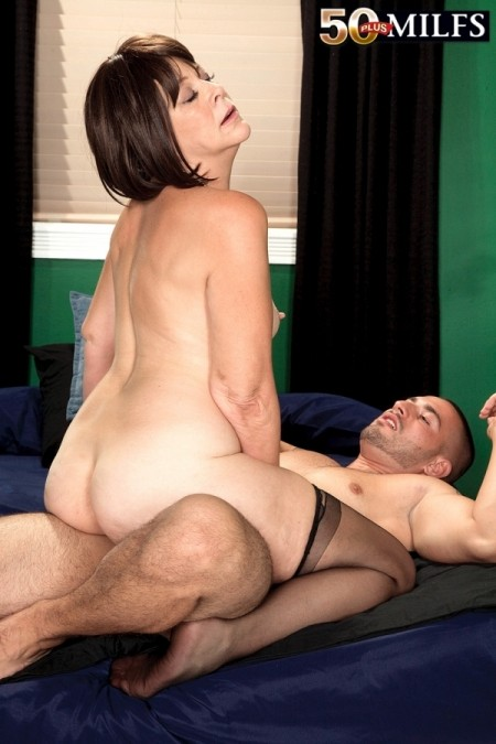 Assfucked milf loves getting drilled