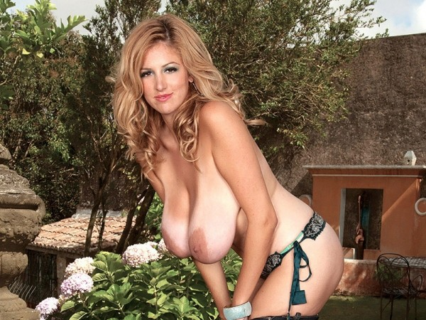 The Garden Of Eden is a busty paradise