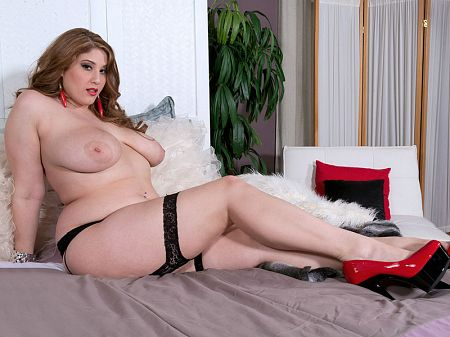 Angel DeLuca - Solo BBW video