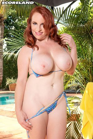 Red Vixen - Solo Big Tits photos